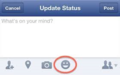 Update facebook