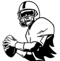 Quarterback-football-vinyl-wall-art-decal