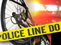 Bicycle accident banner